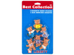 Bear magnets, pack of 6