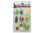 Vegetable magnet set