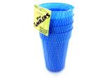 Plastic tumbler set