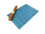 Rolled bamboo place mats