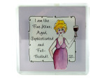 aged wine magnet