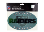 raiders 3d magnet 14015