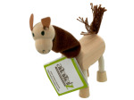 5pk wooden lamas 14096