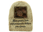 peace stone decor 13962