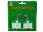 2pk amber tealights