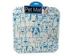 Cats & Dogs Print Pet Mat
