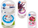 Gel Air Freshener with Vented Lid
