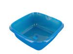 Square Plastic Basin with Pour Spout