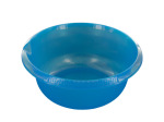 7.5 Liter Round Plastic Basin with Pour Spout