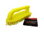 Iron-Shaped Scrub Brush with Handle