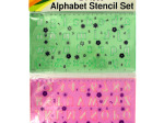 Alphabet Stencil Ruler Set