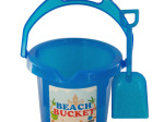 Glitter Beach Bucket with Shovel