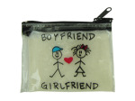 boyfriend/girlfriend coin bag