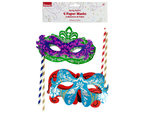 Fancy Paper Party Masks