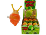 wiggly snail wind up toy