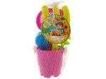 Sand Toy Set in Bucket