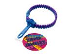 Mondo Blue/Purple Zipper Bracelet
