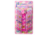 12pc Assorted Pencil Set with Ruler and Sharpener