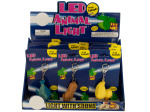 LED Animal Light Key Chain with Sound Countertop Display