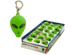 Talking Alien LED Key Chain Countertop Display