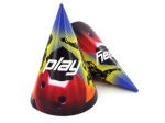 Party hats, bowling, pack of 8