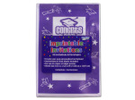 """Congrats Grad"" imprintable invitations, pack of 10"