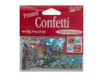 make a wish 60th birthday mix confetti .5 ounce bag