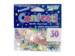 marvelous 30th printed confetti .5 ounce bag