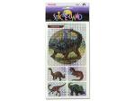 Choice of dinosaur sticker sheets