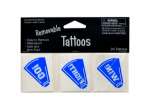 Removable Blue Cheer Tattoos