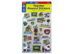 Teacher award sticker sheet