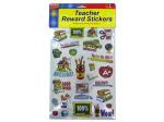 Teacher award sticker sheet