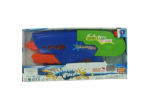 Sounds and light pump action water gun