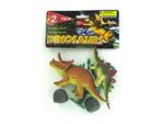 Plastic dinosaurs set