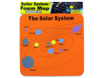 Solar System Foam Map Learning Kit