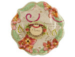 Pastries & Pearls Floral Print Party Plates