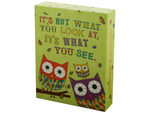 Owl & Snail Sayings Notecards & Envelopes Set
