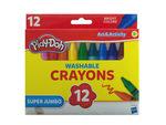 Play-Doh Super Jumbo Washable Crayons Set