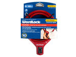 WordLock 10mm 6 Ft Bike Lock in Assorted Colors