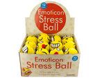 Emoticon Character Stress Ball Countertop Display