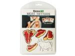 Meat Temporary Tattoos