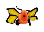 Orange Butterfly Plush Toy