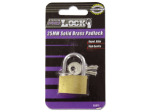 Gold Tone Padlock with Keys