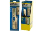 Door Security Single Lock Strike Plate