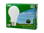 4 Pack Soft White Incadescent Light Bulb 38W