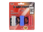 3 Pack 6 LED Pocket Lantern Light