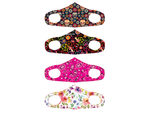 Women's Washable Fashion Fabric Face Cover 4 Asst