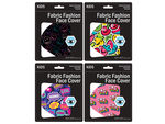 Girls Fun Washable Face Masks 4 Assorted