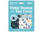 "Boys 3 Pack Preschooler 9"" x 3.5"" Washable Face Mask"
