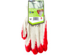Large Red Latex Palm Coated Lightweight Liner Gloves